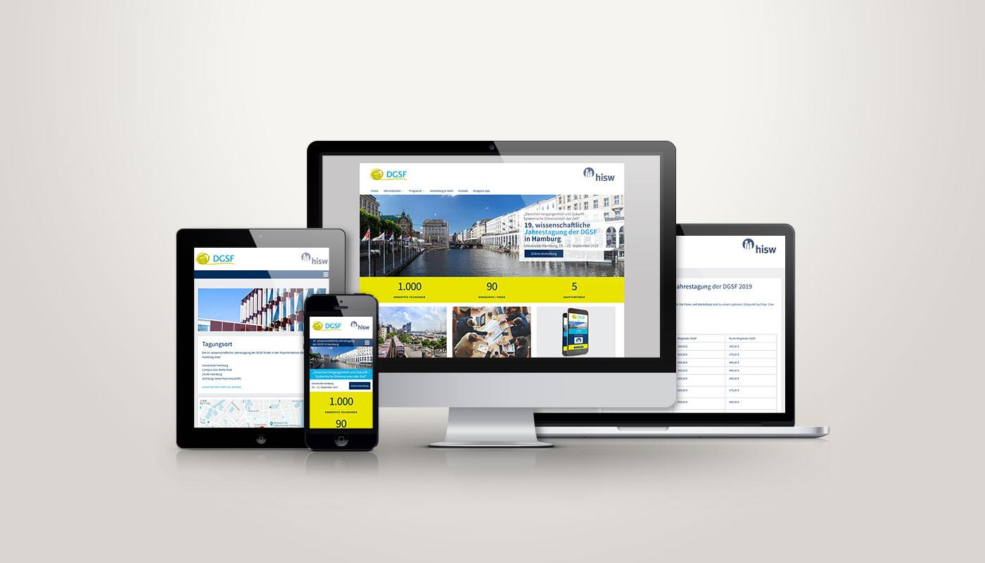 DGSF Website